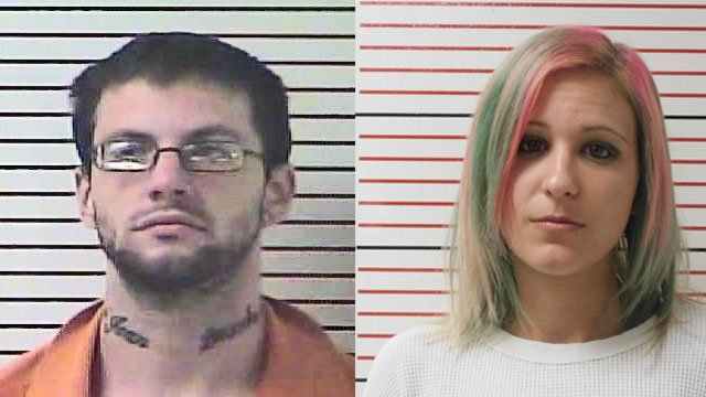 Nathan Abbott and Tressia Bryant (Source: Hardin County Detention Center)