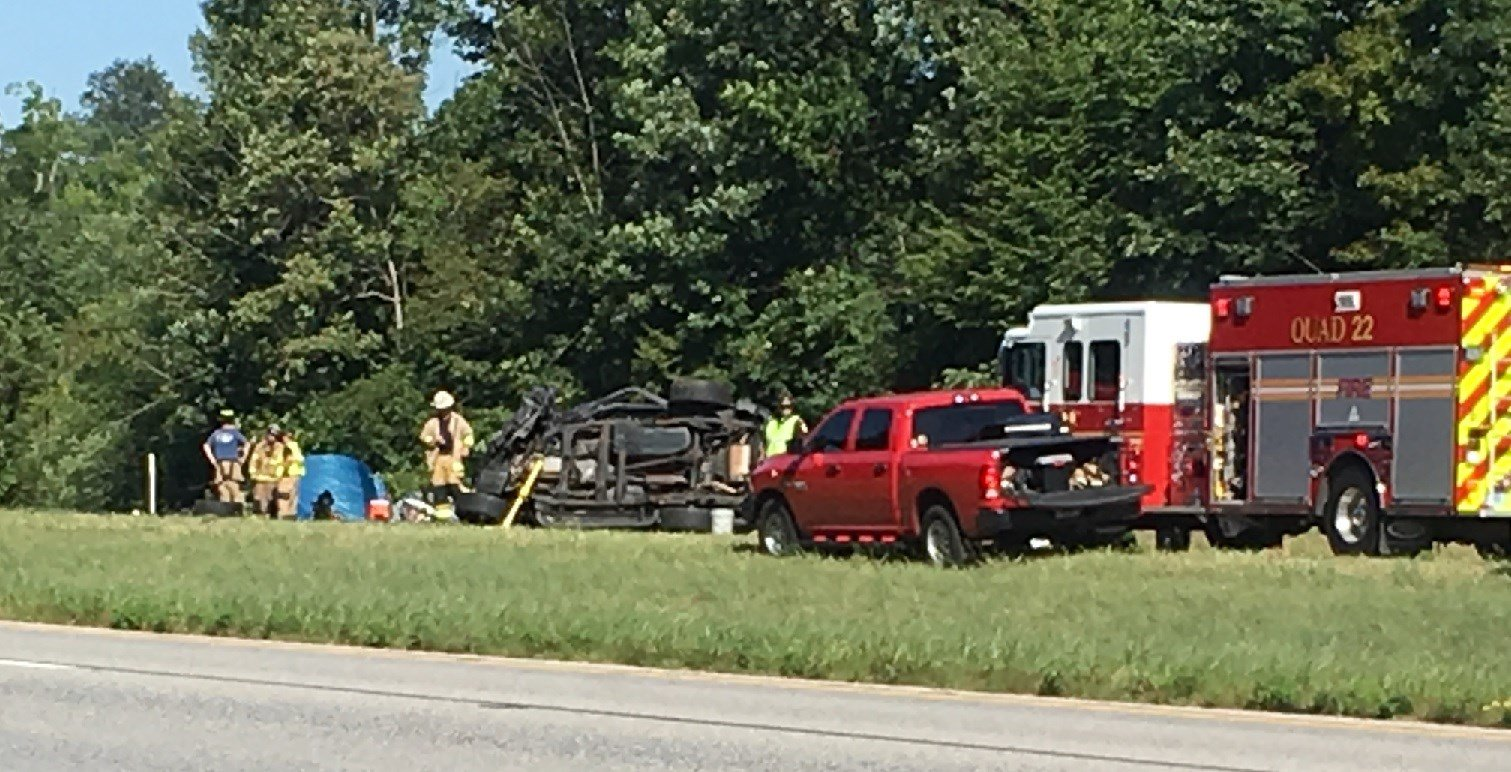 I-64 in Georgetown closed after fatal morning crash