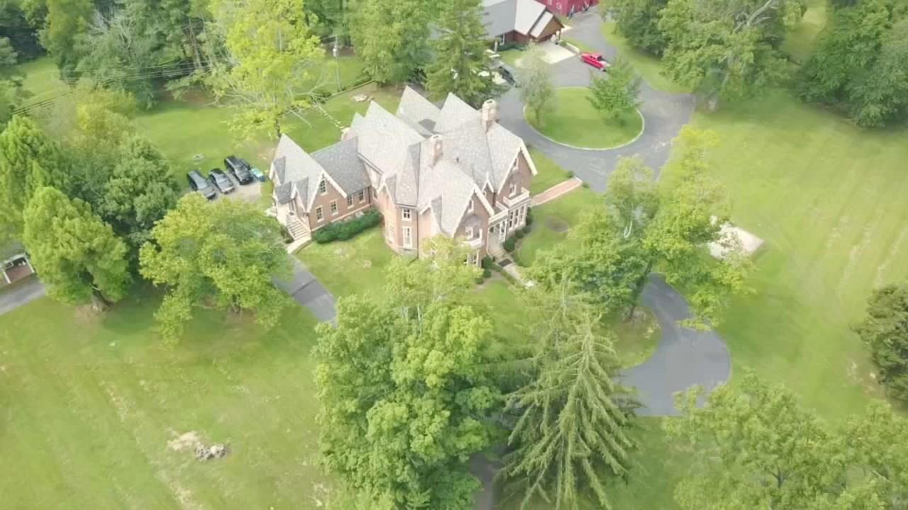 Gov. Matt Bevin's home in Anchorage (WDRB drone camera)