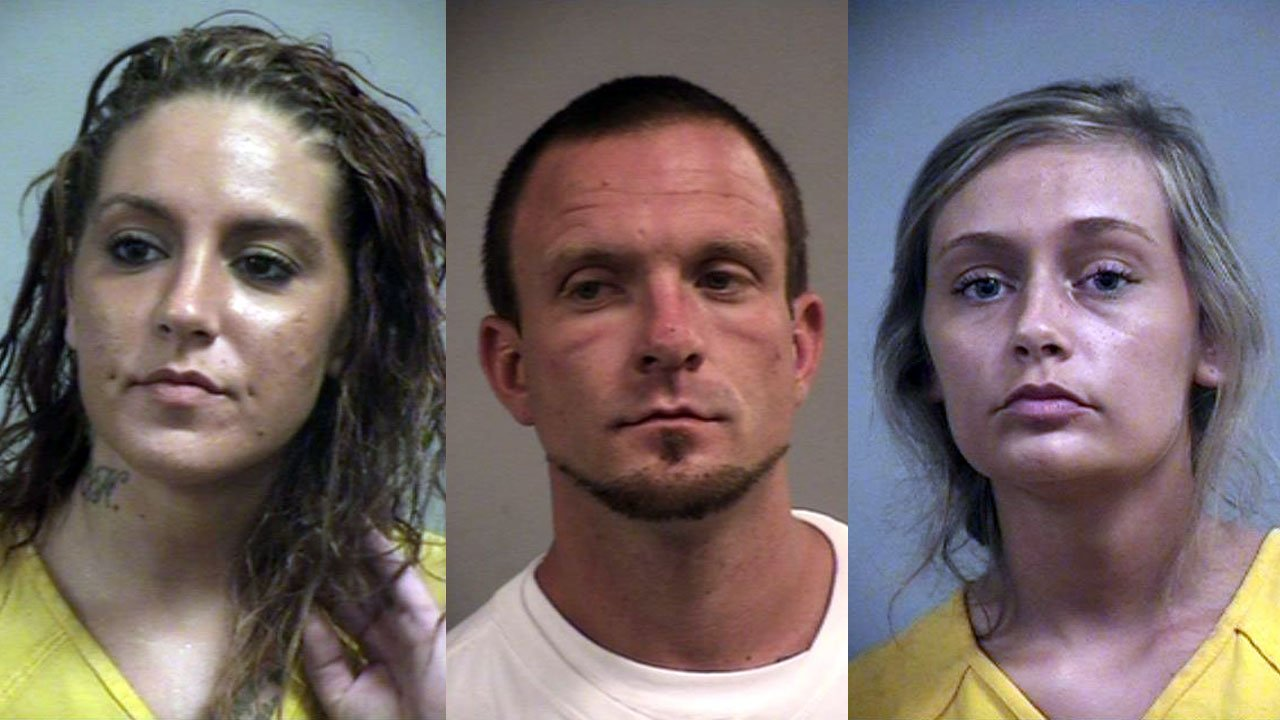 Toni Fisher, Michael Wright and Kari Oliver (Source: Louisville Metro Corrections)