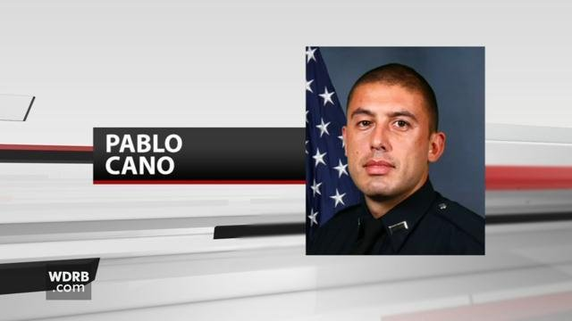 LMPD Officer Pablo Cano