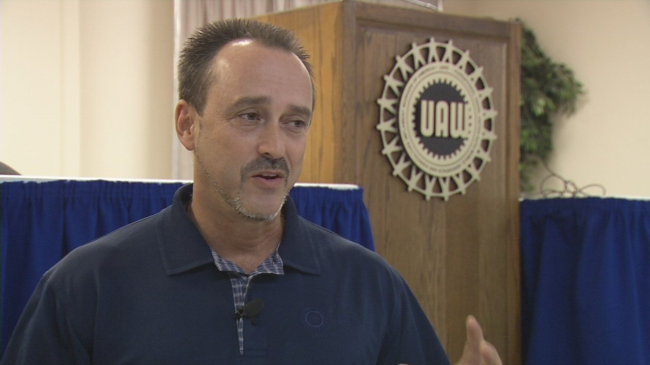 Todd Dunn, president of UAW Local 862 in Louisville