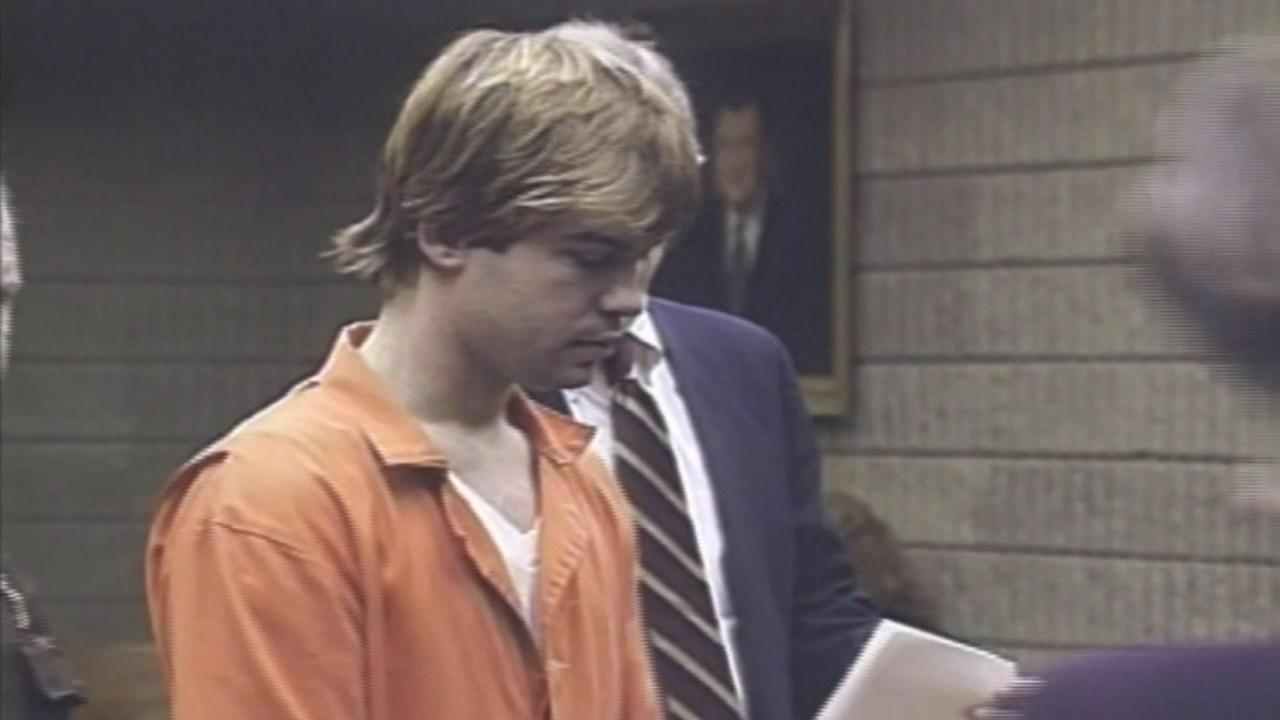 Donovan Harris in court in 1993