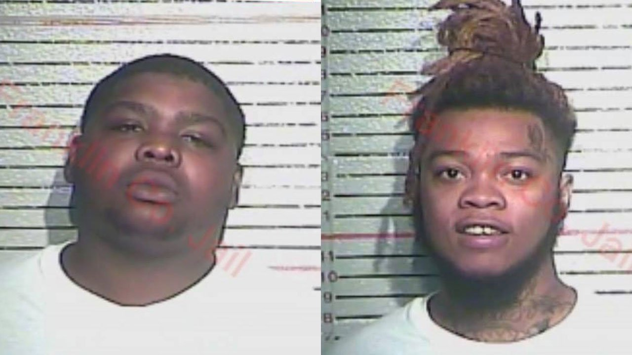 Khasi Jones and Obria Dorsey (Source: Franklin County Sheriff's Office)