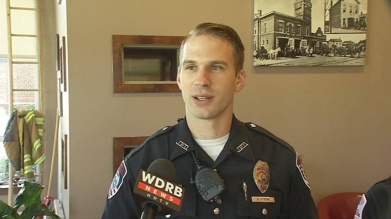Jeffersonville Police Officer Drew Lydon