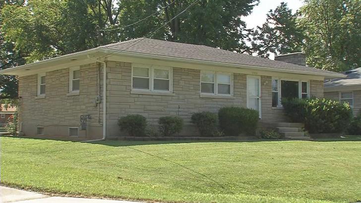 Torey Cranston's Dahl Road home, less than 1,000 feet from Liberty High School.