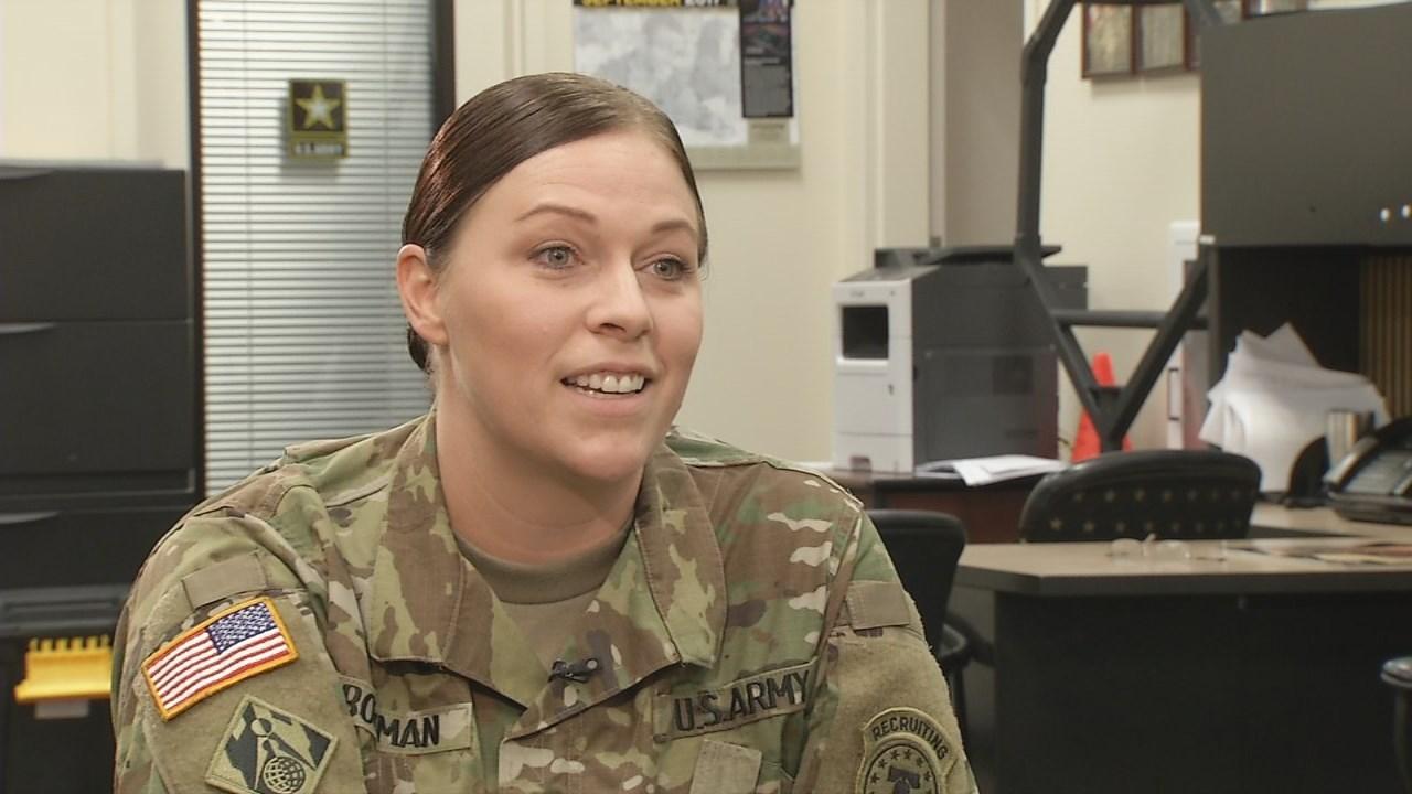 Sgt. First Class Danielle Bowman