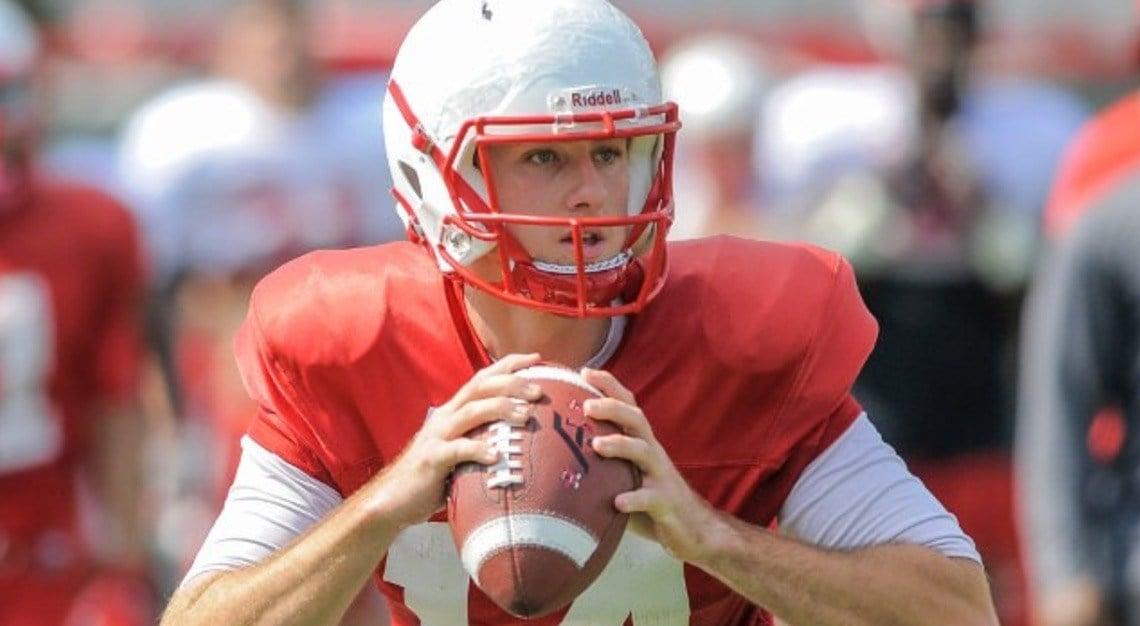 WKU football needs consistent play from quarterback Mike White again this season. (WKU Sports photo.)