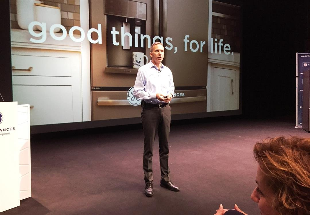 Kevin Nolan, CEO of GE Appliances, Sept. 1, 2017