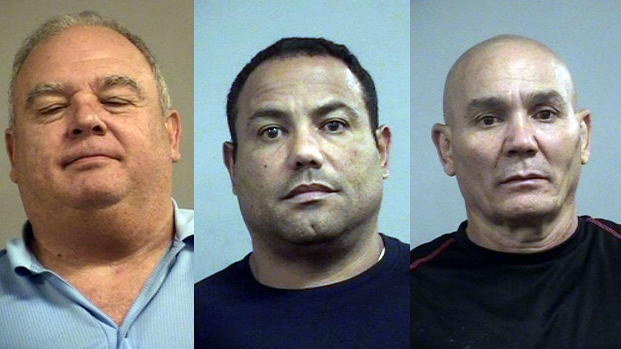 Jose Arias, Abel Rivas-Rodriguez and Maximino Hernandez-Mena (Source: Louisville Metro Corrections)