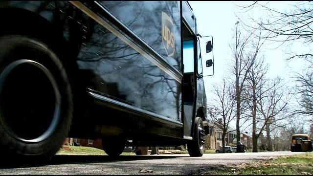 A UPS delivery truck (WDRB photo)