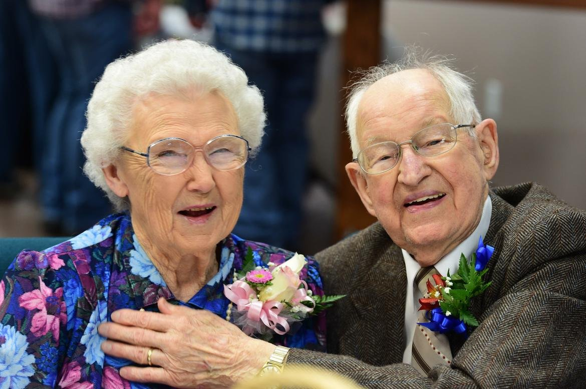 Couple, married 75 years, share names with hurricanes Harvey, Irma