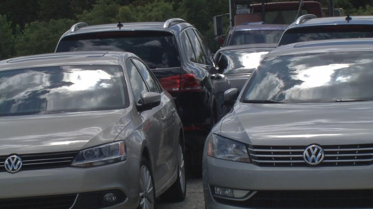 Recalled Volkswagens stolen from parking lot in MI