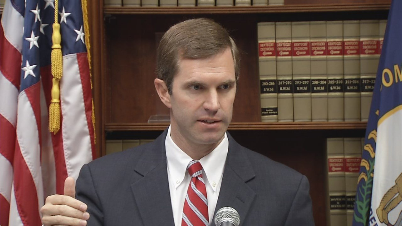 Attorney General Andy Beshear calls Gov. Matt Bevin's proposed budget cuts illegal