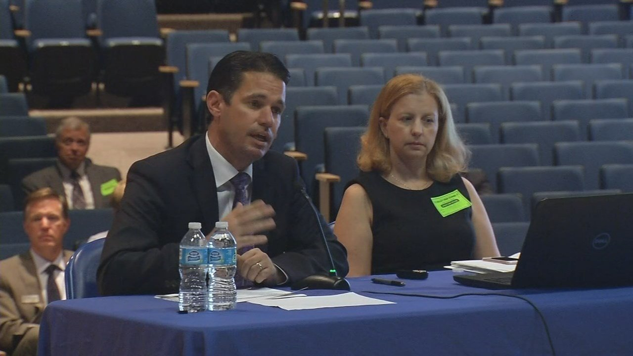 JCPS interim Superintendent Marty Pollio