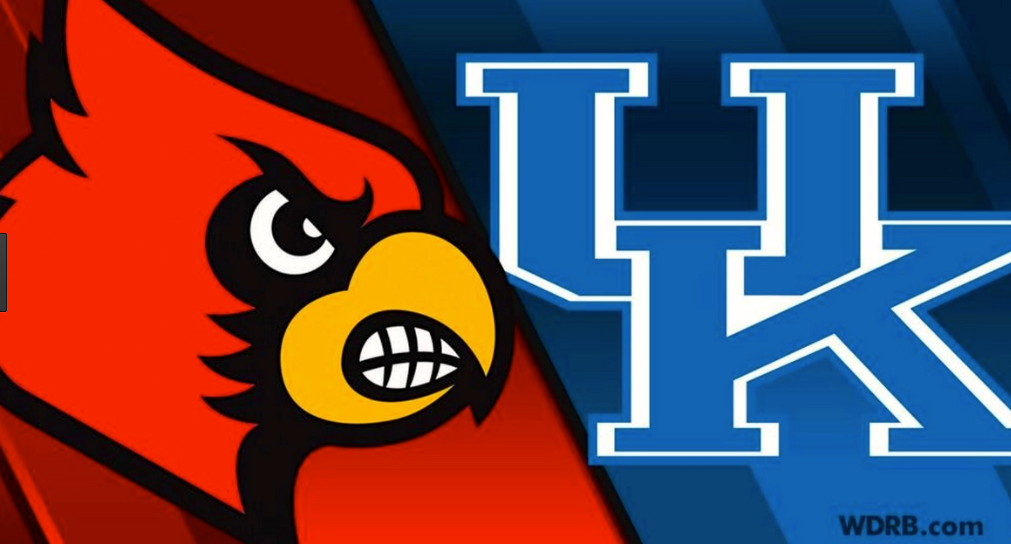 Louisville remains an 8 1/2-point favorite for the Cards' football game at Kentucky in November.