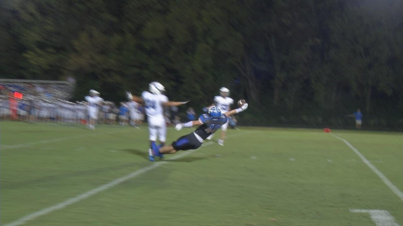 Kentucky Country Day's Josh Lifson leaped for a spectacular one-handed grab that led to a field goal.