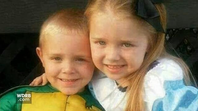 Ericka Fouch's 4-year-old son, Wyatt, and 5-year-old daughter, Adalynn, died after the SUV their mother was driving collided with a train in June of 2017.
