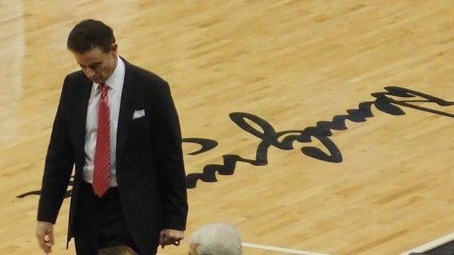 U of L basketball coach Rick Pitino