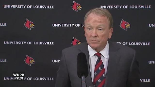Greg Postel, interim president of the University of Louisville