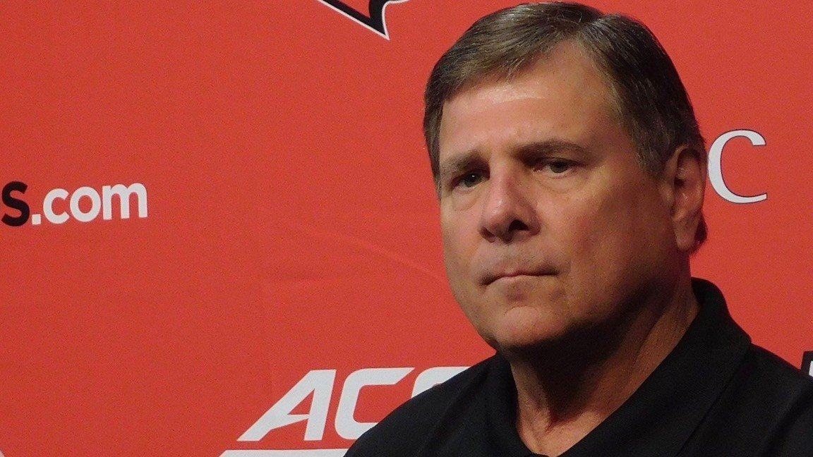U of L athletic director Tom Jurich. (WDRB photo by Eric Crawford)