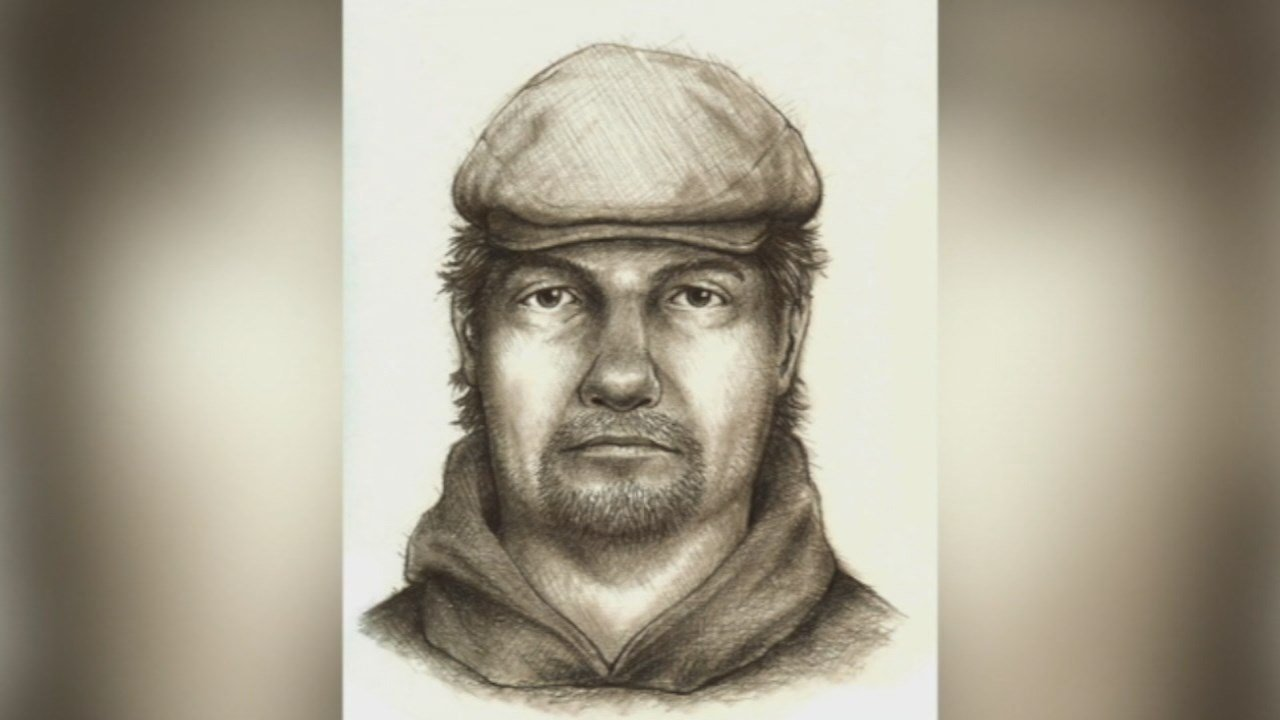 Investigators have released this sketch of a suspect wanted for questioning in connection with the murder of two teens in Delphi, Indiana in February of 2017.