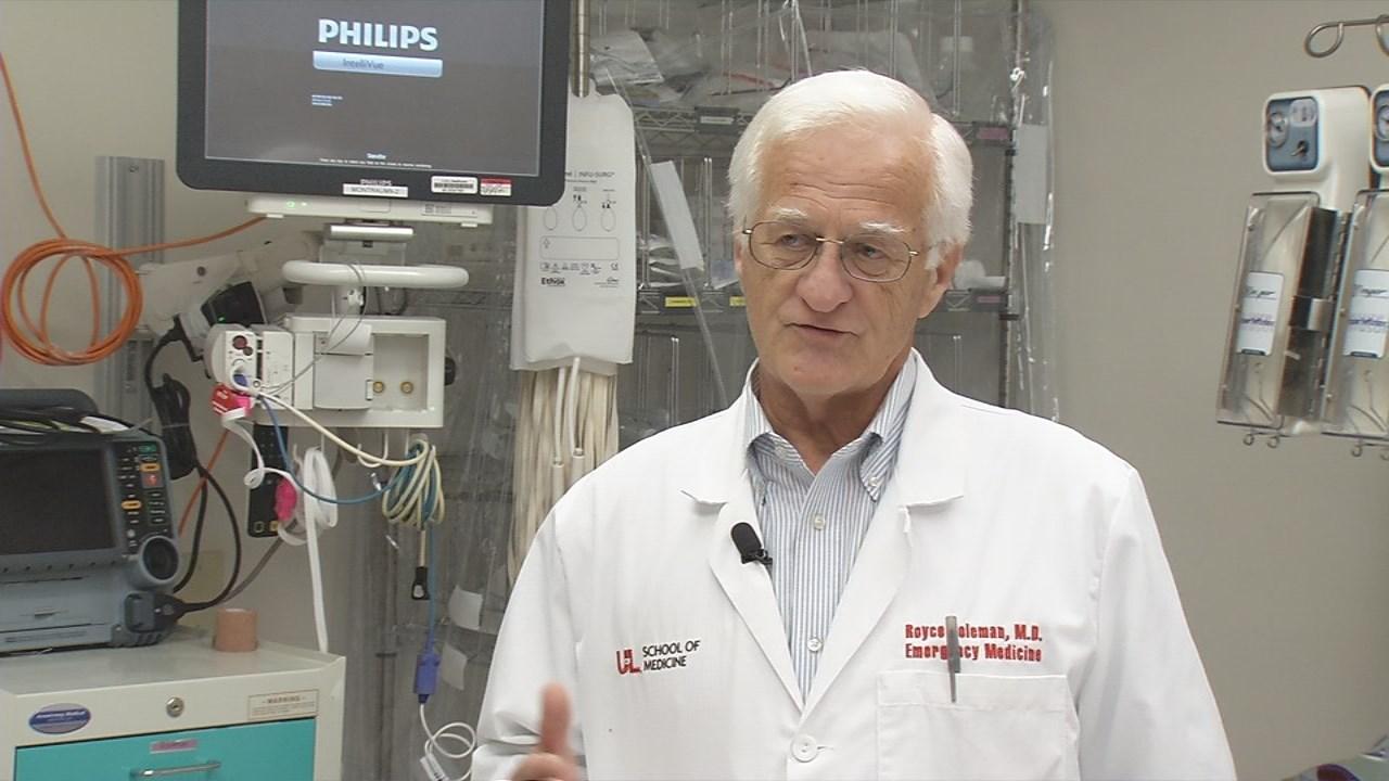 Dr. Royce Coleman, UofL Emergency Medicine