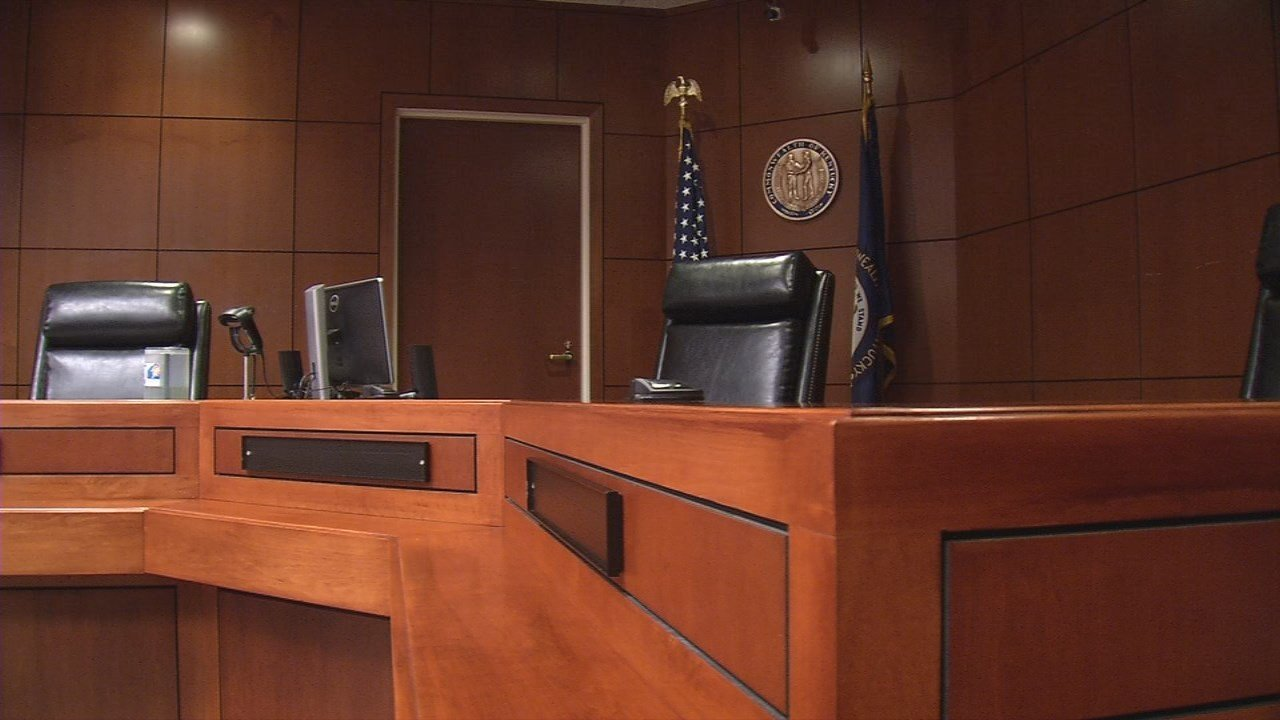 Appeals courtroom in Louisville