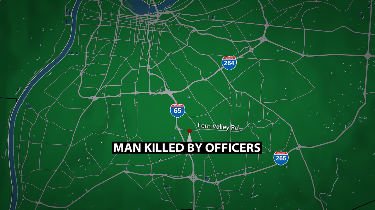 Officer-involved shooting on Fern Valley Road leaves 1 dead