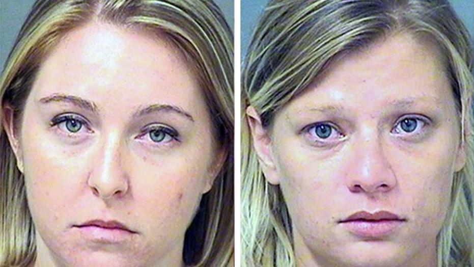 Kristen Leigh O'Connor & June Ann Schweinhart (Image Courtesy: Fox News/Boynton Beach Police Department)