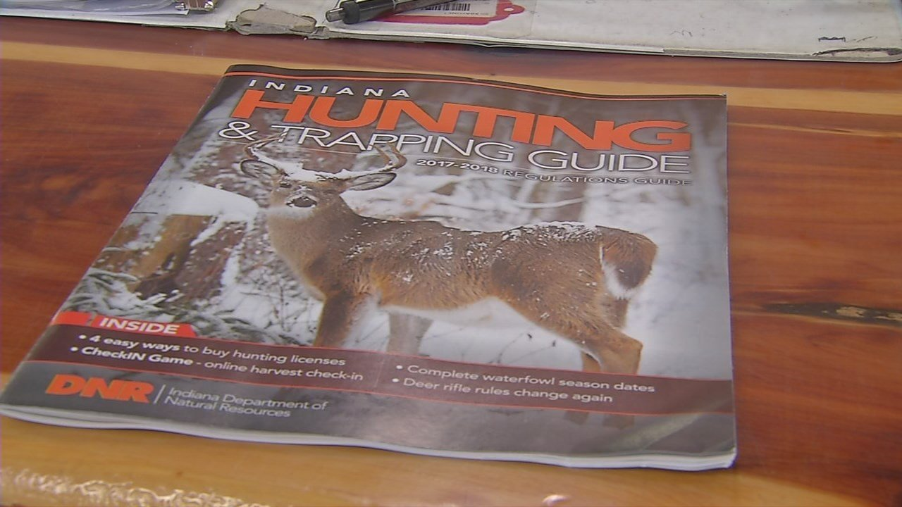 New law for hunting deer in Indiana
