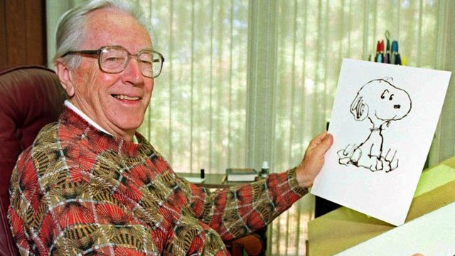 Charles Schulz (Source: The Associated Press)