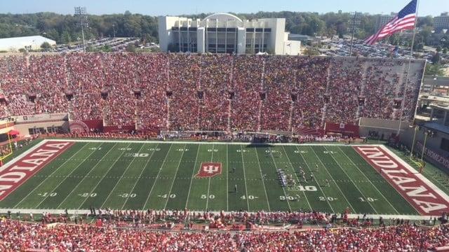 Indiana tried to end a 21-game losing streak against Michigan at Memorial Stadium Saturday.
