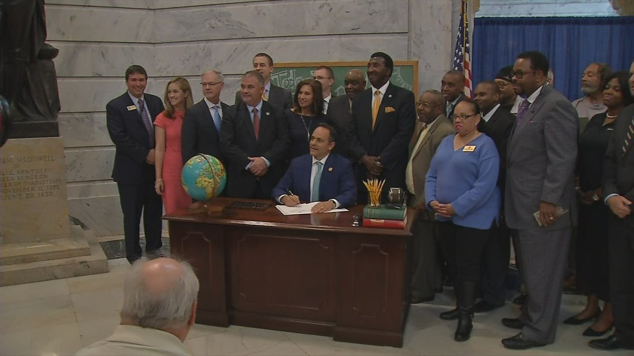 Kentucky Republicans reach deal on public pension system