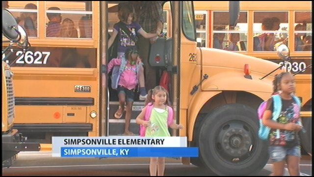 Shelby County Schools hold first day of classes - WDRB 41 Louisville ...