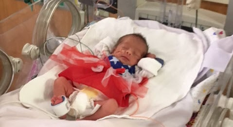 Local hospital dresses NICU babies as superherores