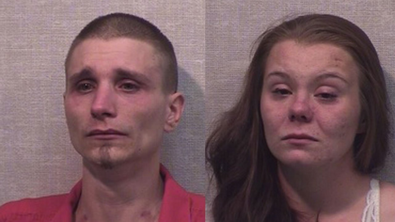 Corey Quick and Ada Baldwin (Source: Jackson County Detention Center)
