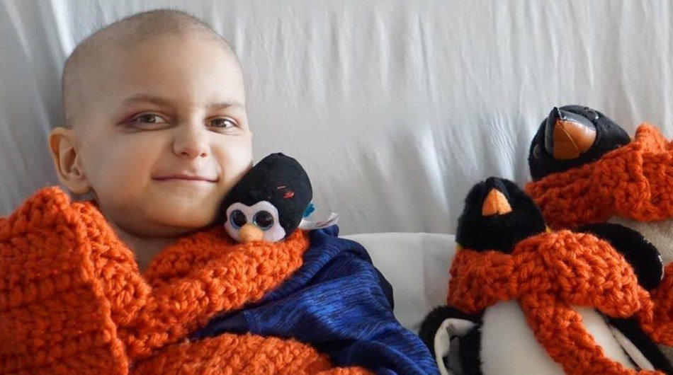 Boy with cancer asks for early Christmas cards, while there's still time