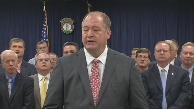 Former Kentucky House Speaker Jeff Hoover