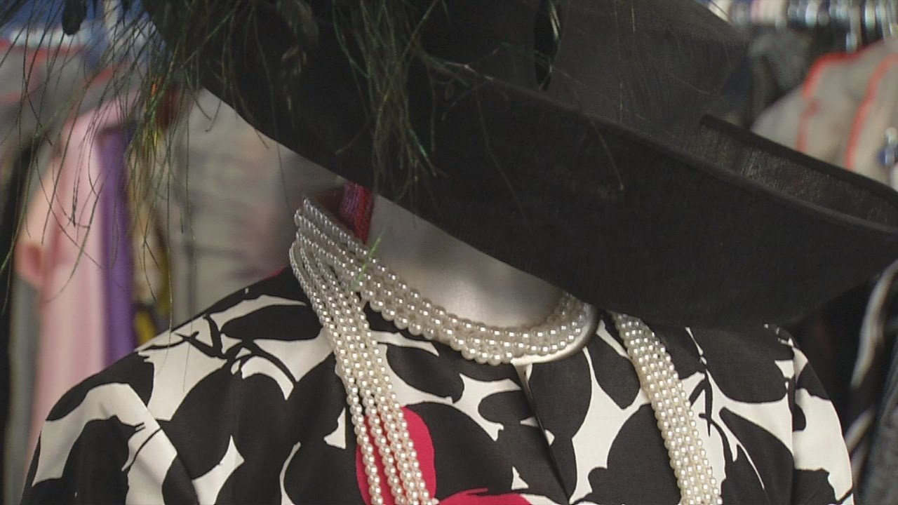 Paula's Boutique, located near the corner of Stilz Avenueand Frankfort Avenue, brings the bling.