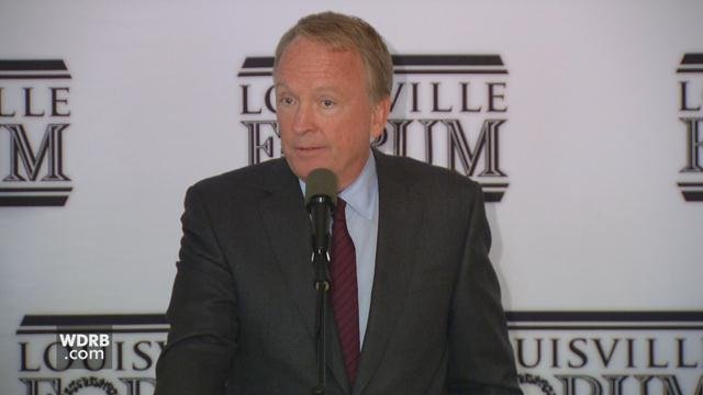 University of Louisville Interim President Dr. Greg Postel