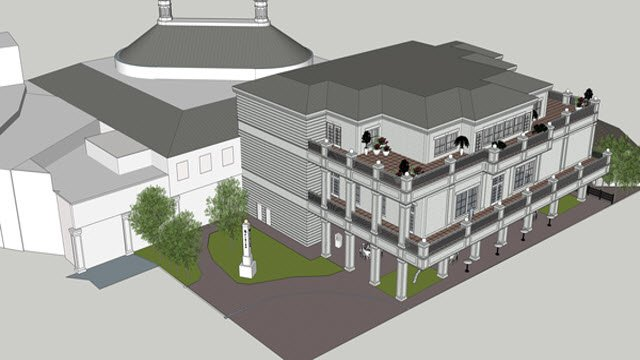 Kentucky Derby Museum Expansion Rendering - Exterior View 1