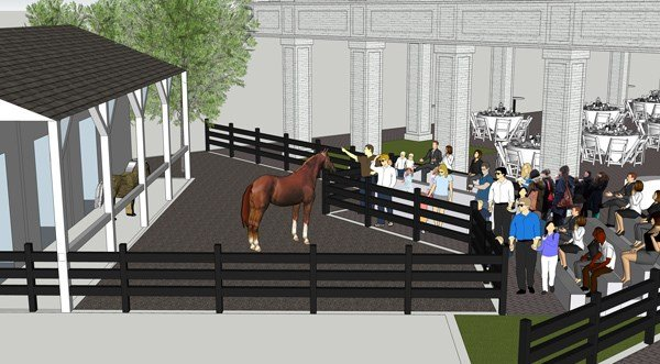 Kentucky Derby Museum Expansion Rendering - Stable