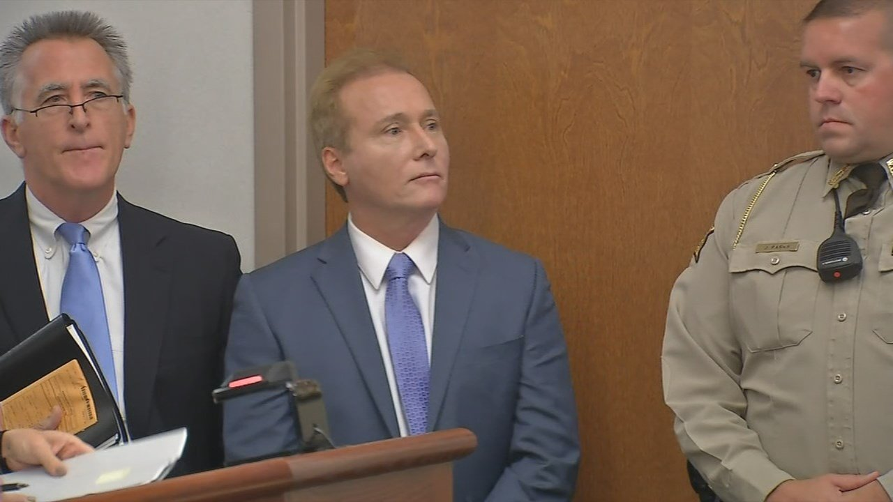 Rene Boucher at his first court appearance after being charged with assaulting U.S. Senator Rand Paul.