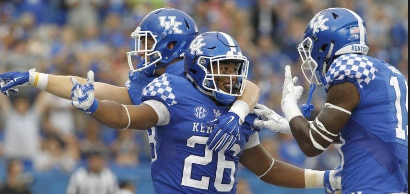 Kentucky halfback Benny Snell has scored nine touchdowns the last three weeks.
