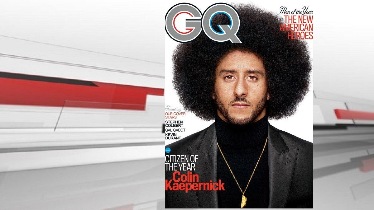 GQ Magazine names Colin Kaepernick 'Citizen of the Year'