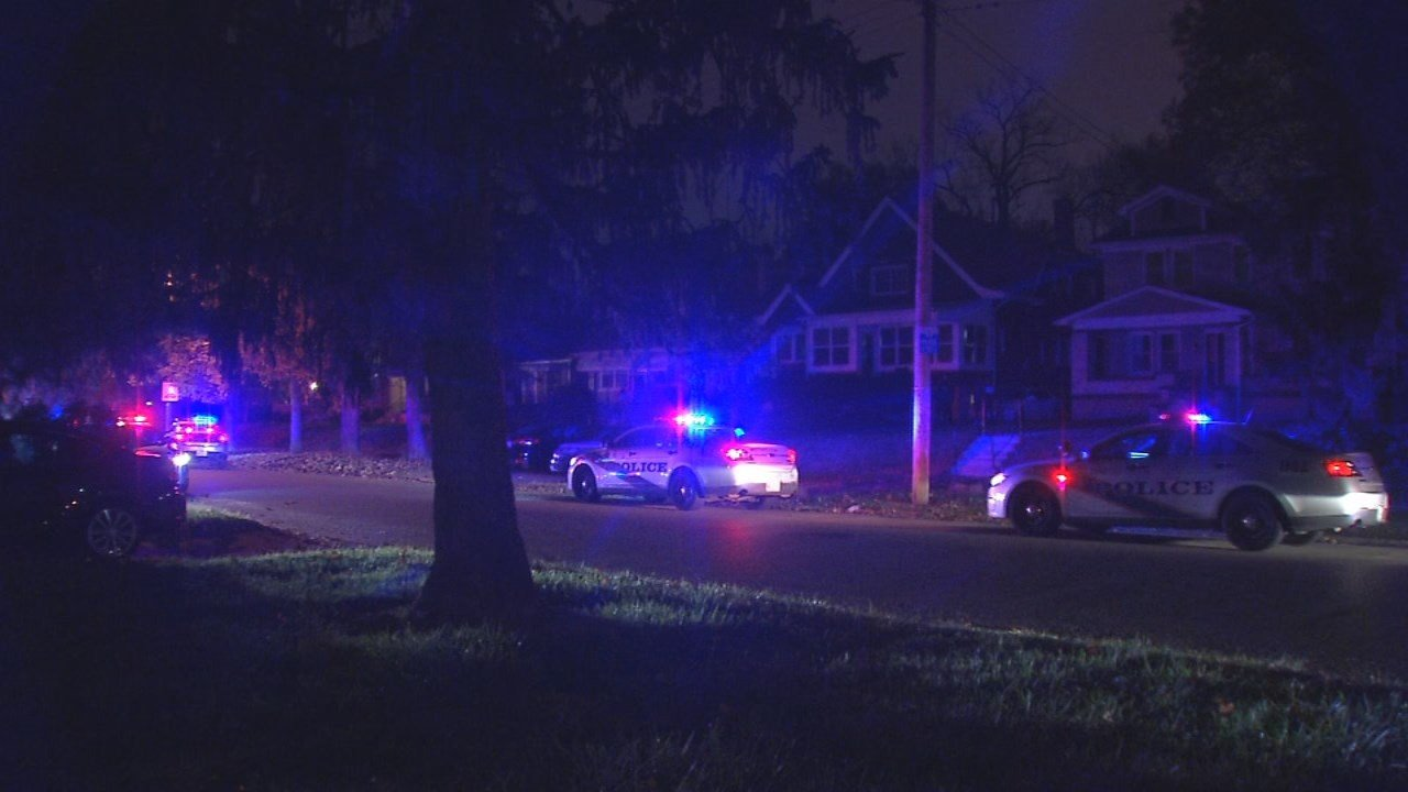 One person was hospitalized after being shot on South 43rd Street on Nov. 13, 2017.