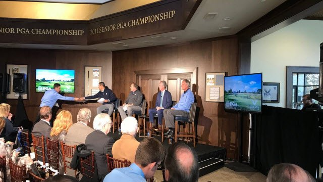 PGA officials announced that the Valhalla will host the PGA Boys Junior Championship in July of 2018, and the PGA Championship in 2024.