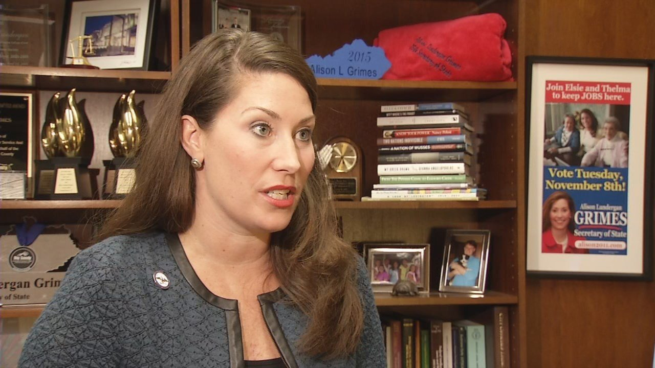 Ky Sec. of State Alison Lundergan Grimes