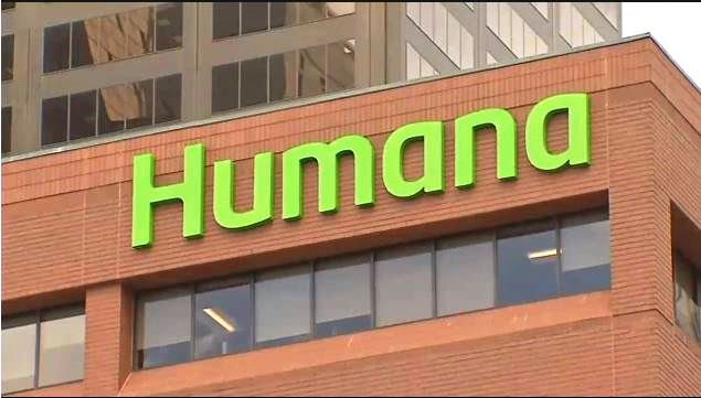 One of Louisville-based Humana's downtown buildings